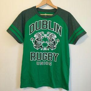 Irish Dublin Rugby Union Shirt St. Patrick's Day